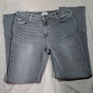 Gray Bean Jeans